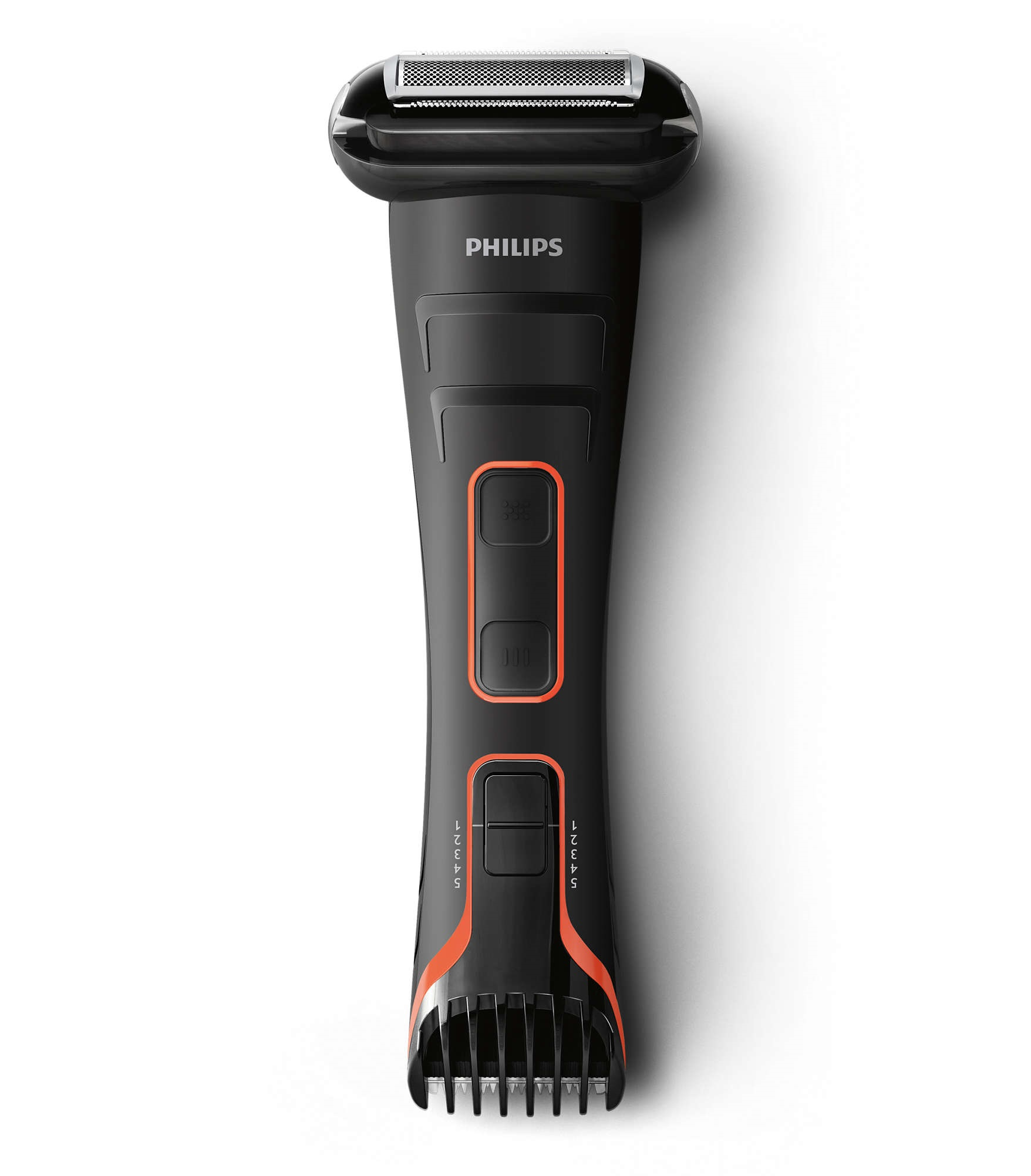 מודרניסטית מכונת גילוח לגוף לגבר פיליפס Philips TT2039 | סידור לקיצוץ ועיצוב KI-89