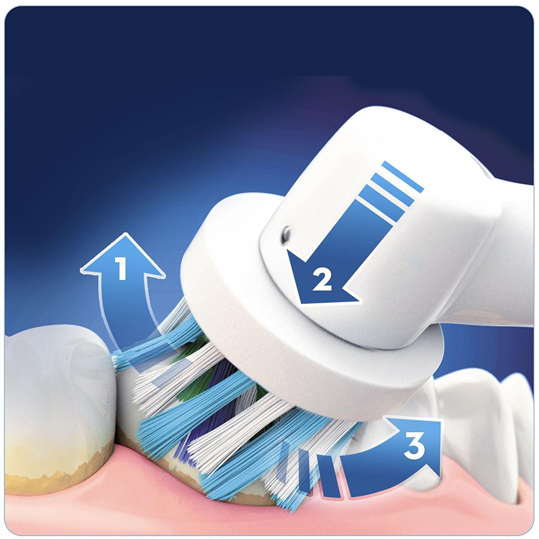 פנטסטי מערכת שטיפת פה חשמלית בלחץ מים כולל מברשת שיניים Oral B Oxyjet PRO HD-97