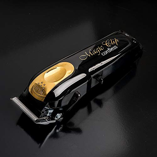תספורת-Wahl-Cordless-Magic-Clip-Clipper-Black-Gold-Limited-Edition-Set-2